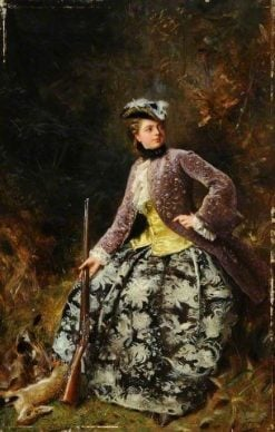 Sport | Gustave Jean Jacquet | Oil Painting