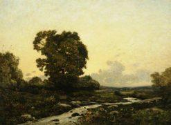 Sunset | Henri Joseph Harpignies | Oil Painting