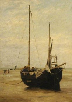 Shore Scene | Jacob Maris | Oil Painting