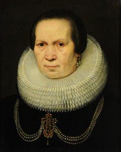 Portrait of a Lady | Jan van Ravesteyn | Oil Painting