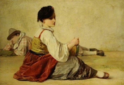 Strolling Players | Jean Louis Ernest Meissonier | Oil Painting