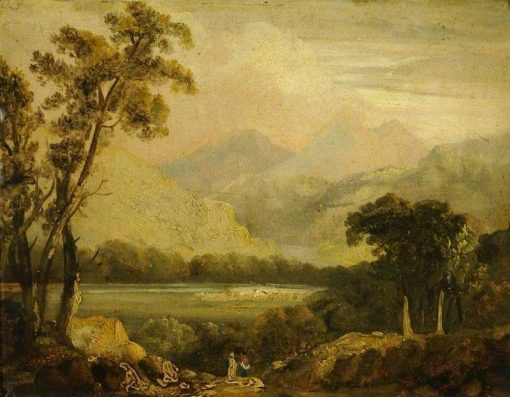 Landscape with a River | John Crome | Oil Painting