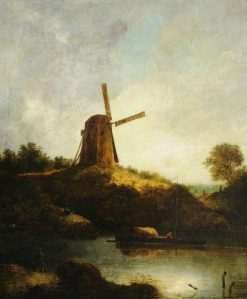 The Windmill | John Crome | Oil Painting