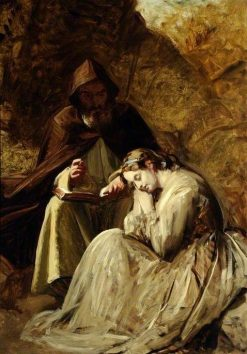 The Fair Maid of Perth   John Phillip   Oil Painting