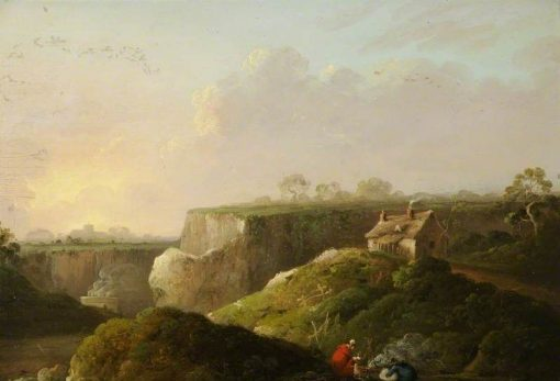 A View in North Wales | Julius Caesar Ibbetson | Oil Painting