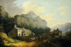 Mountain Landscape | Julius Caesar Ibbetson | Oil Painting