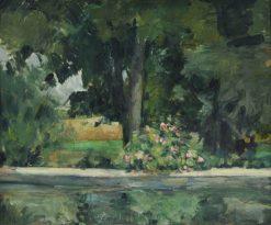 Bassin du Jas de Bouffan | Paul CEzanne | Oil Painting