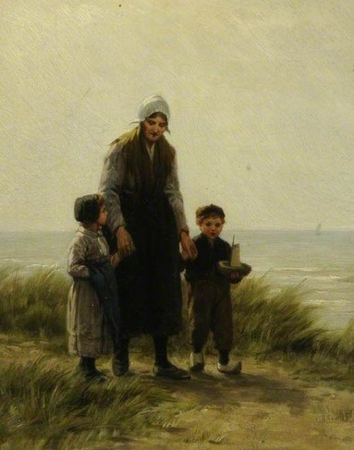Figure Piece | Philip Lodewijk Jacob Frederik SadEe | Oil Painting