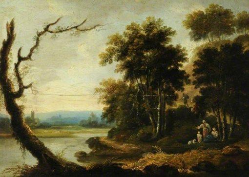Landscape with a Church | Richard Wilson