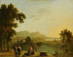 Italian Landscape with Figures | Richard Wilson