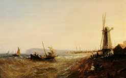 Coastal Scene | Samuel Bough | Oil Painting