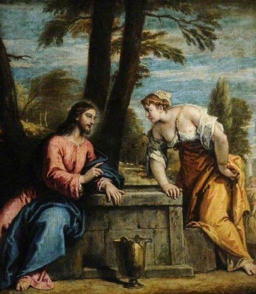 Christ and the Woman of Samaria | Sebastiano Ricci | Oil Painting