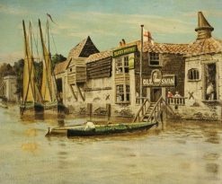 The Thames at Chelsea | Walter Greaves | Oil Painting