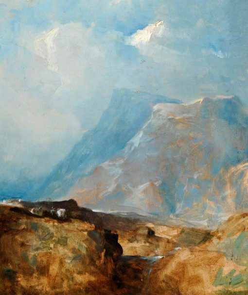 A Sketch in Wales | William James Muller | Oil Painting