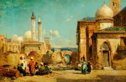 Scene in Morocco | William James Muller | Oil Painting