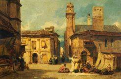 Scene in Algiers | William James Muller | Oil Painting