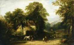 The Village Smithy | William James Muller | Oil Painting