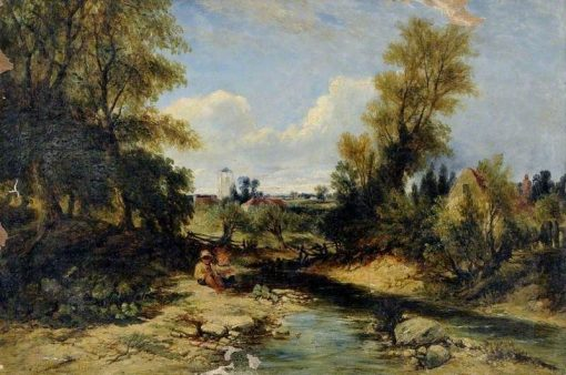 landscape   William James Muller   Oil Painting