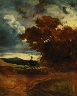 Evening Sketch | William James Muller | Oil Painting