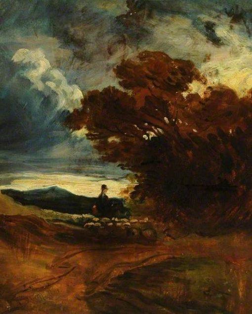 Evening Sketch | William James Muller | Oil Painting