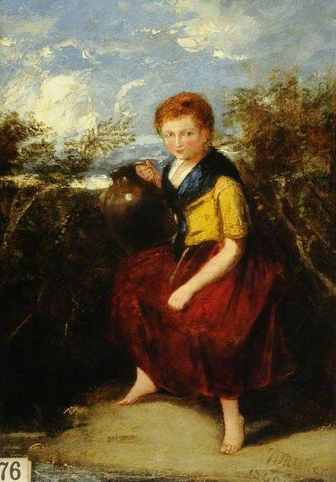 A Peasant Girl | William James Muller | Oil Painting