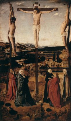 Crucifixion | Antonello da Messina | Oil Painting