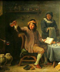The Consultation | David Teniers II | Oil Painting