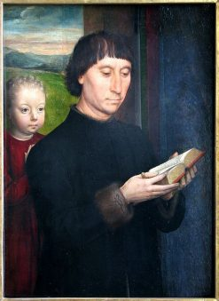Portrait of a Man Reading | Hans Memling | Oil Painting