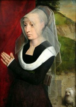 Portrait of a Woman at Prayer | Hans Memling | Oil Painting