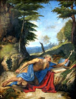 Penitent Saint Jerome | Lorenzo Lotto | Oil Painting