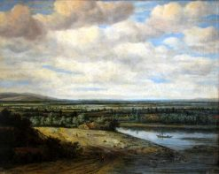 Flat Dutch Landscape | Philips Koninck | Oil Painting