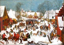 Slaughter of the Innocent | Pieter Bruegel the Elder | Oil Painting