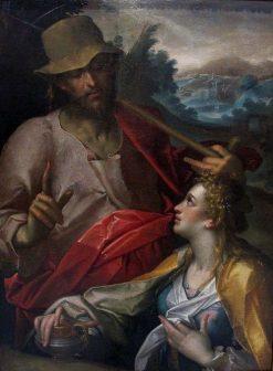 Noli me Tangere | Bartholomaeus Spranger | Oil Painting