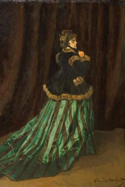 Camille in the Green Dress | Claude Monet | Oil Painting