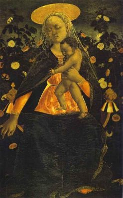 Virgin and Child | Domenico Veneziano | Oil Painting