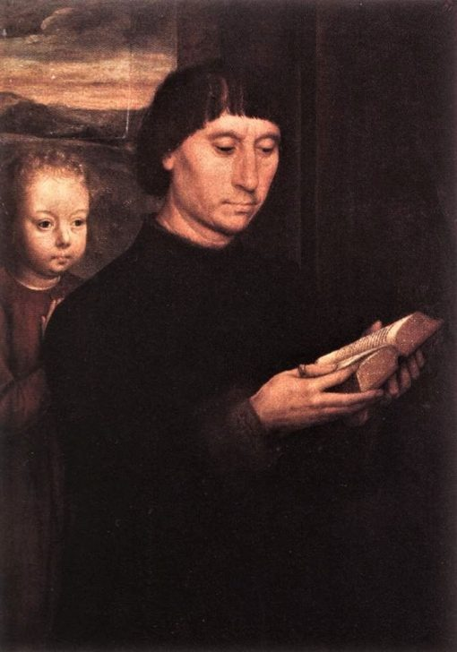 Donor | Hans Memling | Oil Painting