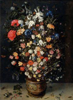 Flower Bouquet   Jan Brueghel the Elder   Oil Painting