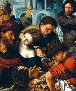 The Calling of Saint Matthew | Jan Sanders van Hemessen | Oil Painting