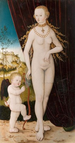 Venus and Cupid | Lucas Cranach the Elder | Oil Painting