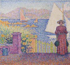 Gate (Saint-Tropez) | Paul Signac | Oil Painting
