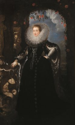 Portrait of Giovanna Spinola Pavese | Peter Paul Rubens | Oil Painting