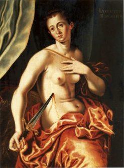 Lucretia | Bartholomaeus Spranger | Oil Painting