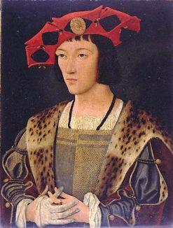 Portrait of a Coutier   Jan Mostaert   Oil Painting
