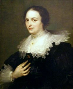 Portrait of a Woman   Anthony van Dyck   Oil Painting