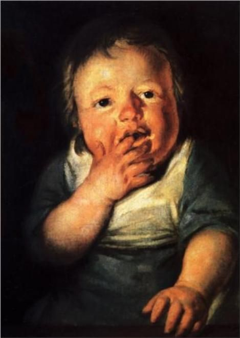 Study of a Child | Jacob Jordaens | Oil Painting