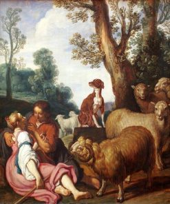 Pastoral Scene (Granida and Daifilo) | Pieter Lastman | Oil Painting