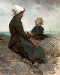 At the Seashore | Anna Bilinska Bohdanowicz | Oil Painting
