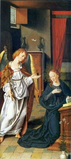 The Annunciation | Bartholomaeus Bruyn the Elder | Oil Painting