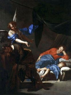 The Dream of Saint Joseph | Bernardo Cavallino | Oil Painting