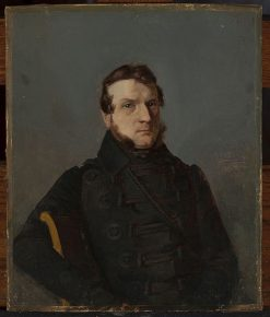 Portrait of a Man(also known as Portret m?ski) | Bonawentura Dabrowski | Oil Painting